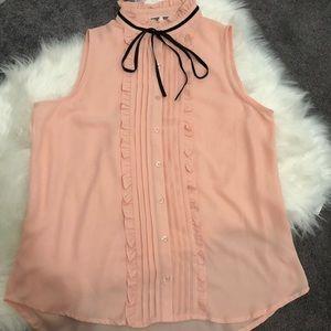 Pleione sleeveless blouse. Size medium